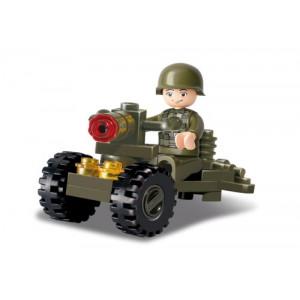 SLUBAN Τουβλακια Army, Soldier M38-B0118, 24τμχ M38-B0118