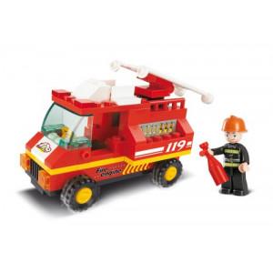 SLUBAN Τουβλακια Town, Fire Truck M38-B0173, 74τμχ M38-B0173