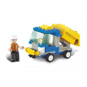 SLUBAN Τουβλακια Town, Dump Truck M38-B0178, 65τμχ M38-B0178