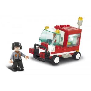 SLUBAN Τουβλακια Town, Service Vehicle M38-B0180, 68τμχ M38-B0180