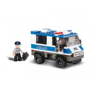 SLUBAN Τουβλακια Police, Prisoner Trasporterer M38-B0273, 126τμχ M38-B0273