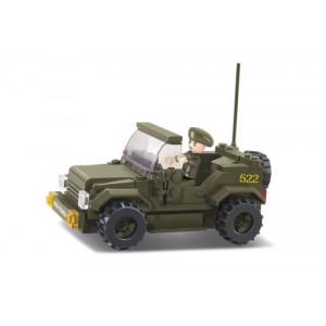 SLUBAN Τουβλακια Army, Jeep M38-B0296, 121τμχ M38-B0296