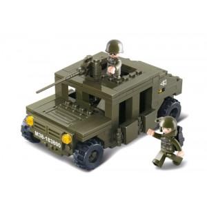 SLUBAN Τουβλακια Army, Armoured Car M38-B0297, 175τμχ M38-B0297