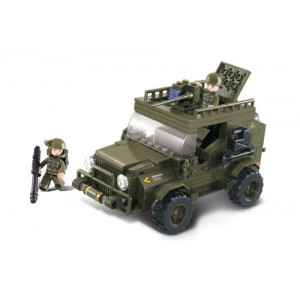 SLUBAN Τουβλακια Army, SUV M38-B0299, 217τμχ M38-B0299