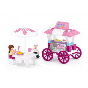 SLUBAN Τουβλακια Girls Dream, Food Stall M38-B0522, 78τμχ M38-B0522