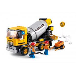 SLUBAN Τουβλακια Town, Cement Mixer M38-B0550, 296τμχ M38-B0550