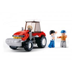 SLUBAN Τουβλακια Town Farm, Tractor M38-B0556, 102τμχ M38-B0556