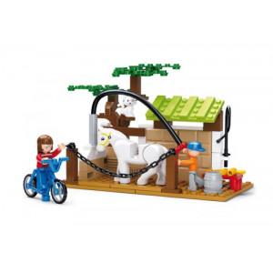 SLUBAN Τουβλακια Town Farm, Horse Wash Area M38-B0557, 110τμχ M38-B0557