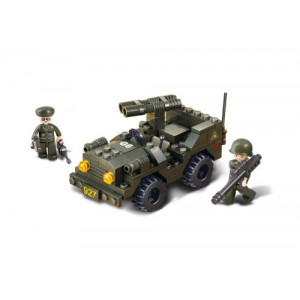 SLUBAN Τουβλακια Army, Jeep M38-B5800, 102τμχ M38-B5800