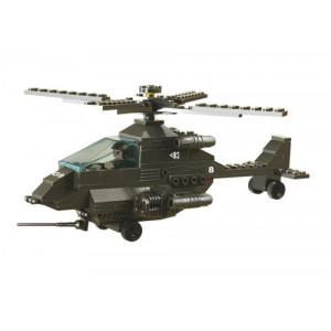 SLUBAN Τουβλακια Army, Attack Helicopter M38-B6200, 158τμχ M38-B6200