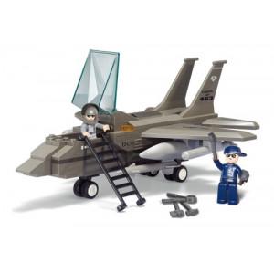 SLUBAN Τουβλακια Army, Fighter Jet M38-B7200, 142τμχ M38-B7200