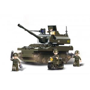SLUBAN Τουβλακια Army, Tank M38-B9800, 258τμχ M38-B9800