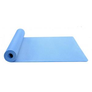 Στρώμα γυμναστικής MATT-0001, TPE, 183x61x0.6cm, μπλε MATT-0001