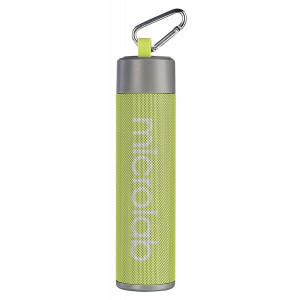 MICROLAB Φορητό ηχείο MD118, power bank, φακός, selfie stick, πράσινο MD118-GN