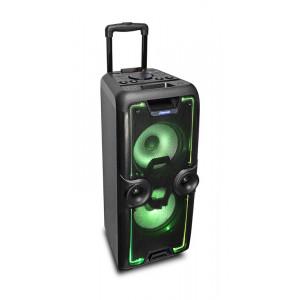 IDANCE Φορητό ηχοσύστημα MEGABOX2000, Karaoke, Bluetooth/SD/USB, μαύρο MEGABOX2000