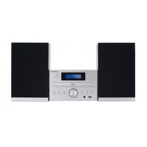 THOMSON HI-FI System MIC122BT, bluetooth, FM/CD/MP3/USB, 50W, ασημι MIC122BT