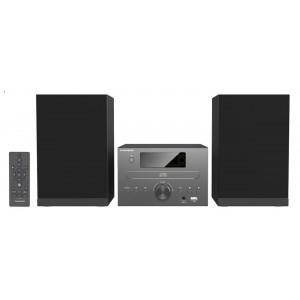 THOMSON HI-FI System MIC125BT, bluetooth, FM/CD/MP3/USB, 50W, μαύρο MIC125BT