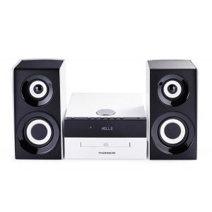 THOMSON HI-FI System MIC301BT, bluetooth, FM/CD/MP3/USB, 75W, λευκο MIC301BT