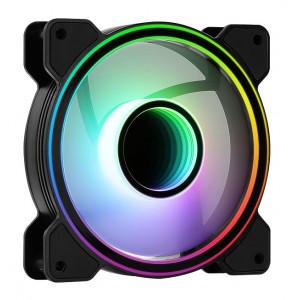 AEROCOOL LED ανεμιστήρας MIRAGE-12ARGB, 120mm, RGB MIRAGE-12ARGB