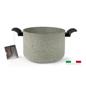 FLONAL Κατσαρόλα αντικολλητική Monolite 24cm με λαβή βακελίτη MITPE2490
