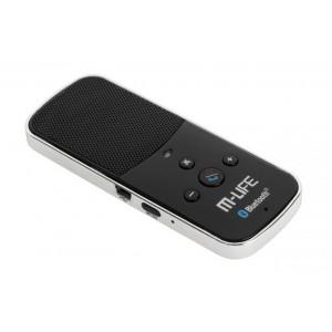 M-LIFE Bluetooth Car Kit ML0621, 650mAh, μαύρο ML0621