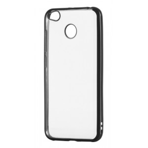 POWERTECH Θηκη Metal TPU για Xiaomi Redmi 4X, Black MOB-0453