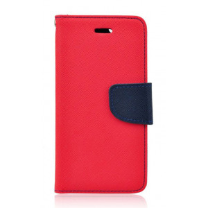 POWERTECH Θηκη Fancy για Nokia 8, Red/Navy MOB-0651