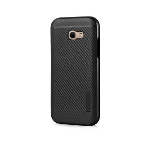 POWERTECH Θηκη Carbon Armor Hybrid για Samsung Galaxy A5 2017, Black MOB-0672