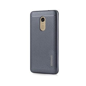 POWERTECH Θηκη Carbon Armor Hybrid για Xiaomi Redmi Note 4, Gray MOB-0683