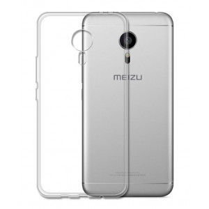 POWERTECH Θηκη Ultra Slim για Meizu M3 Note, διαφανη MOB-0808