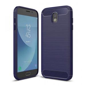 POWERTECH Θηκη Carbon Flex για Samsung J5 2017, Μπλε MOB-0828