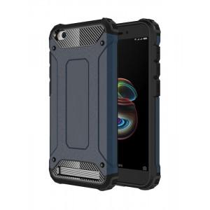 POWERTECH θήκη Hybrid Protect για Xiaomi Redmi 5A, μπλε MOB-0931