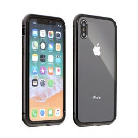 POWERTECH Θήκη Magneto MOB-1317 για  iPhone XS, μαύρο MOB-1317