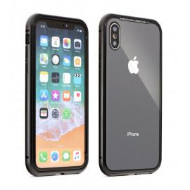 POWERTECH Θήκη Magneto MOB-1318 για  iPhone XS Max, μαύρο MOB-1318