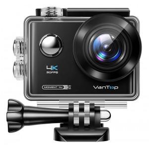 VANTOP action camera Μoment4U, 4K 30fps, 20MP, touch screen, μαύρη MOMENT4U