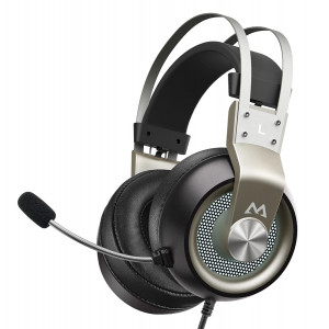 MPOW gaming headset EG3 Pro, multiplatform, 3.5mmm, ασημί MPBH357AH