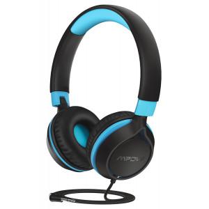 MPOW headphones για παιδιά Che1 BH385A, noise limit, 3.5mm, μαύρο-μπλε MPBH385AL