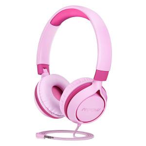 MPOW headphones για παιδιά Che1 BH385A, noise limit, 3.5mm, ροζ MPBH385AP