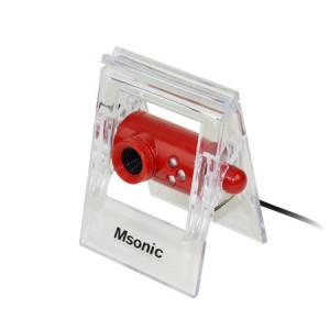 MSONIC Web Camera MR1803R 0.3MP, Red MR1803R