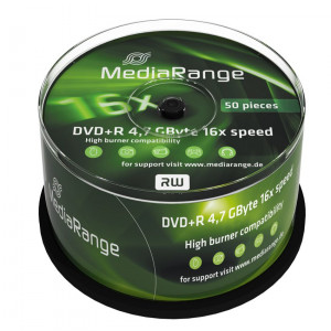 MediaRange DVD + R 4,7 GB 16x Cake50 MR445