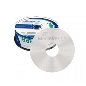 MEDIARANGE DVD+R Double Layer 8.5GB/240min, 8x speed, Cake 25 MR469