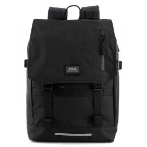 MARK RYDEN τσάντα πλάτης MR5748, με θήκη laptop 15.6, μαύρη MR5748-00