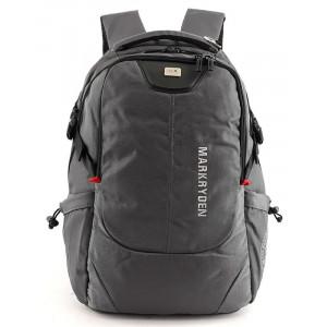 MARK RYDEN τσάντα πλάτης MR5783, με θήκη laptop 15.6, 22L, γκρι MR5783-02