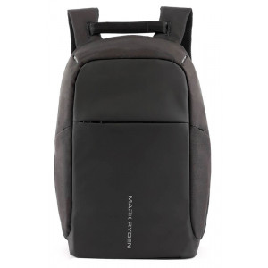MARK RYDEN τσάντα πλάτης MR5815, με θήκη laptop 15.6, 15L, μαύρη MR5815-00