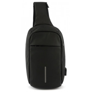 MARK RYDEN τσάντα crossbody MR5898, θήκη tablet 9.7, αδιάβροχη, μαύρη MR5898-00