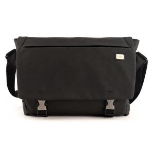 MARK RYDEN τσάντα ώμου MR5900D, με θήκη laptop 14, 10L, μαύρη MR5900D-00