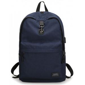 MARK RYDEN τσάντα πλάτης MR5968, με θήκη laptop 15.6, 20L, μπλε MR5968-06