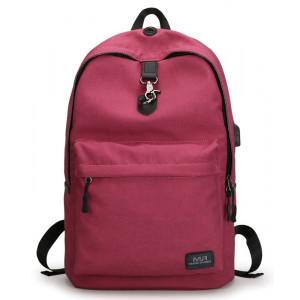 MARK RYDEN τσάντα πλάτης MR5968, με θήκη laptop 15.6, 20L, κόκκινη MR5968-09