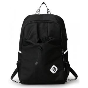 MARK RYDEN τσάντα πλάτης MR6008, με θήκη laptop 15.6, 23L, μαύρη MR6008-00