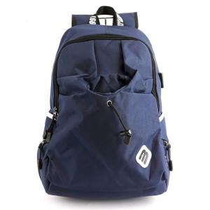 MARK RYDEN τσάντα πλάτης MR6008, με θήκη laptop 15.6, 23L, μπλε MR6008-14